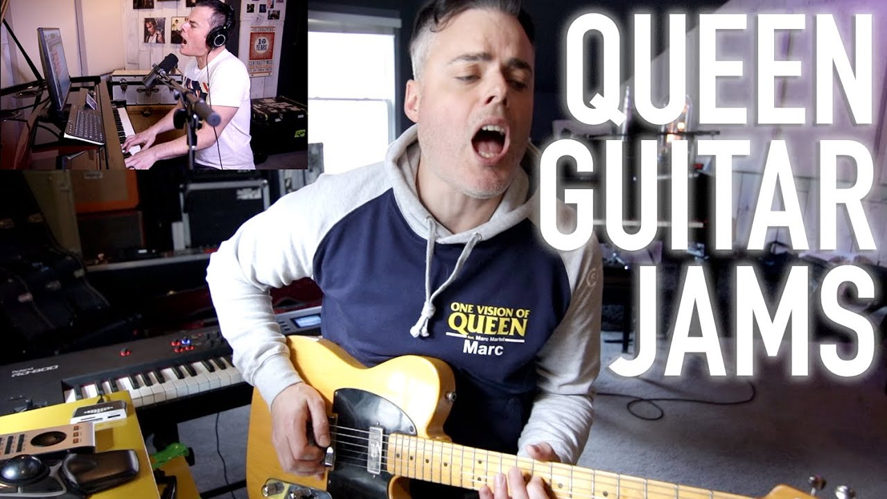 Marc Martel - Electric Guitar Queen Montage
