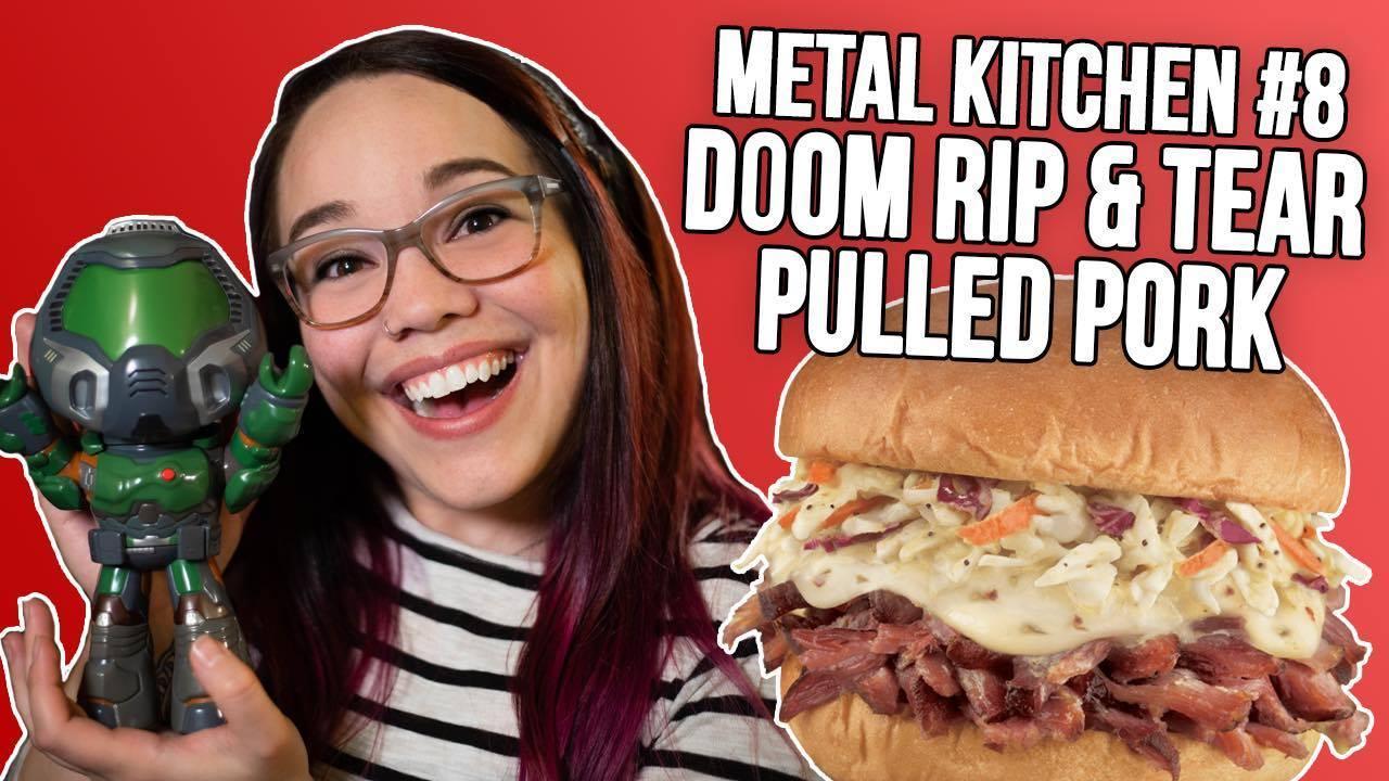 Watch Metal Kitchen #8: DOOM Rip & Tear Pulled Pork