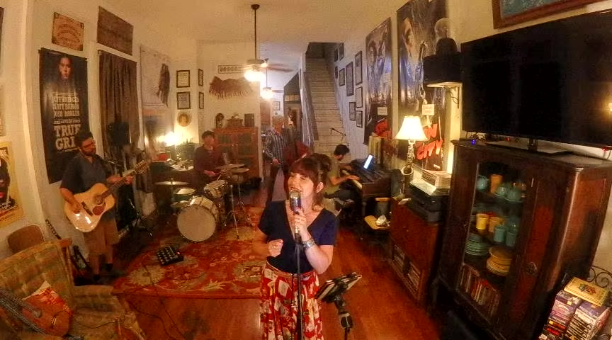Watch Tiffany Pollack & Co. LIVE in the Living Room