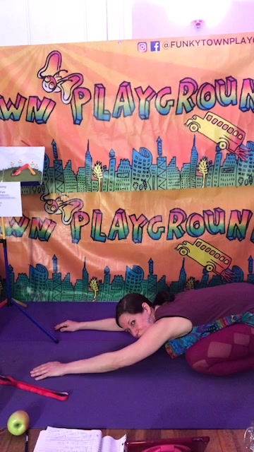 Watch Funkytown Playground Yoga and Music Class! Happy Passover.