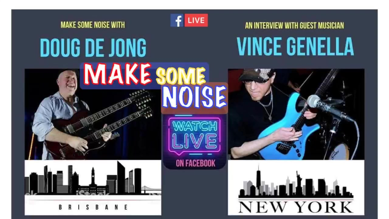 Watch Ep62 MAKE SOME NOISE Live in NEW York