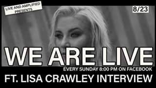 """We are Live"" With Great Independent Music and an Interview with Lisa Crawley! C..."