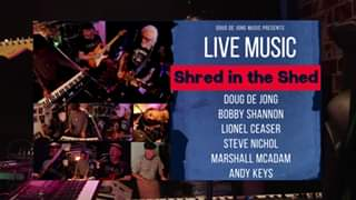 Watch Shred in the Shed!
