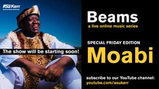 Watch Moabi - Beams: a live online music series