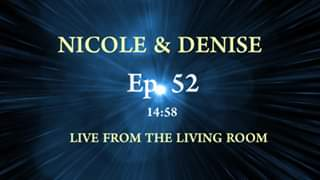 Watch LIVE FROM THE LIVING ROOM-Ep. 52!
